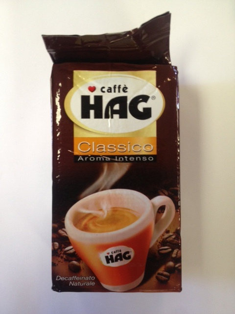 Hag Decaf Classic Espresso Ground Coffee 8.8oz