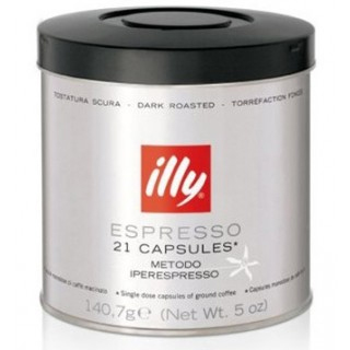 illy iper Dark Roast Capsules 21ct