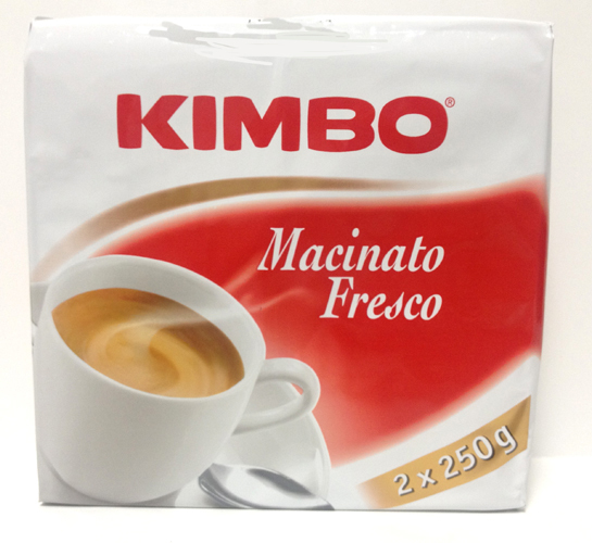 Kimbo Macinato Fresco Ground Coffee Medium Roast 17.6oz
