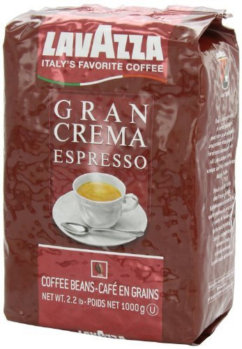 Lavazza Gran Crema Espresso Whole Bean Coffee Dark Roast 35.2 oz