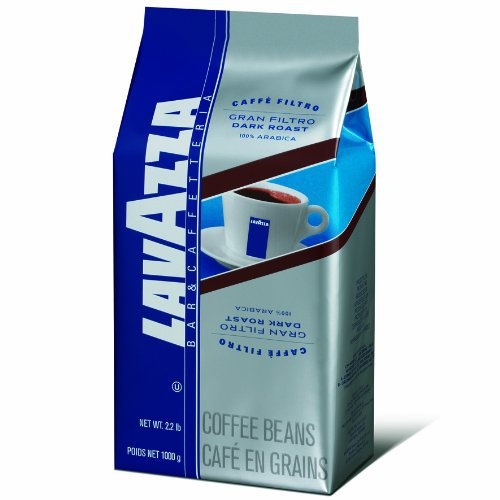 Lavazzo Gran Filtro Whole Bean Coffee Dark Roast 35.2oz