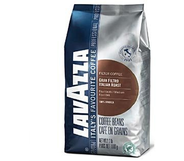 Lavazza Italian Roast Whole Bean Coffee Medium Roast 35.2 oz