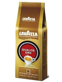 Lavazza Qualita Oro Whole Bean Coffee Medium Roast 176oz