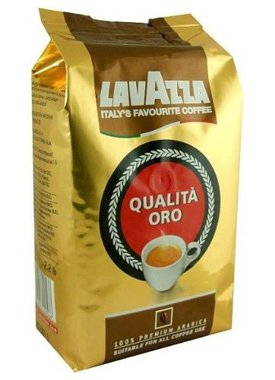 Lavazza Qualita Oro Whole Bean Coffee Medium Roast 35.2oz