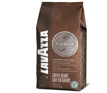 Lavazza Tierra Whole Bean Coffee Espresso Dark Roast 35.2oz