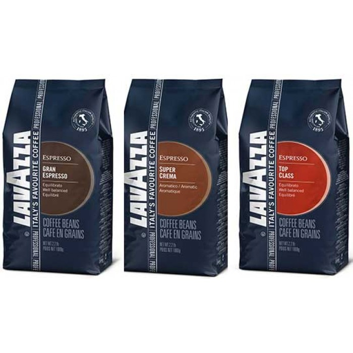 Lavazza Variety Pack Whole Bean Coffee Sampler 106oz