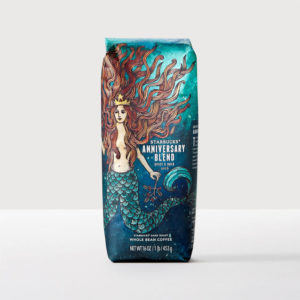 Starbucks Anniversary Blend Whole Bean Coffee Medium Roast 16oz