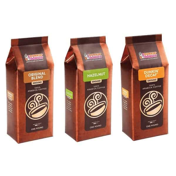 Dunkin Donuts Coffee Lover Bundle Variety 3 Packs Of 16oz