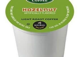 Green Mountain Coffee Hazelnut Light Roast Kcups 72ct