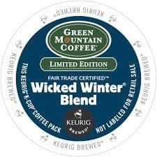 Green Mountain Coffee Wicked Winter Dark Roast K cups®  24ct