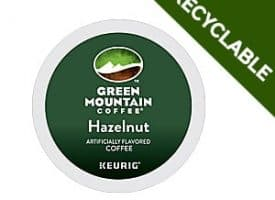 Green Mountain Coffee Hazelnut Recyclable Light Roast K cups®  24ct