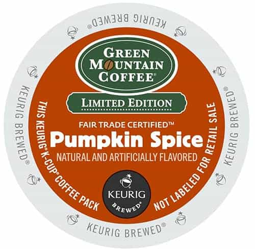 Green Mountain Coffee Pumpkin Spice Blend Light Roast K cups®  24ct