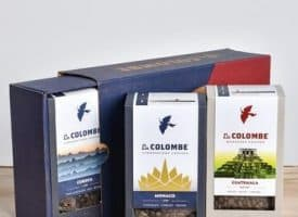 La Colombe Coffee Lover Gift Box Variety Pack Whole Bean Coffee 36oz