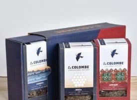 La Colombe Greatest Hits Gift Box Variety Pack Whole Bean Coffee 36oz