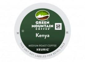 Green Mountain Coffee Kenyan AA Extra Bold Medium Roast K cups®  96ct