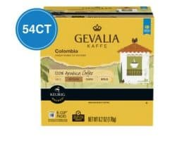 Gevalia Colombia Medium Roast K cups®  54ct