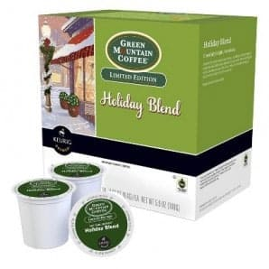 Green Mountain Coffee Holiday Blend Medium Roast K cups®  24ct
