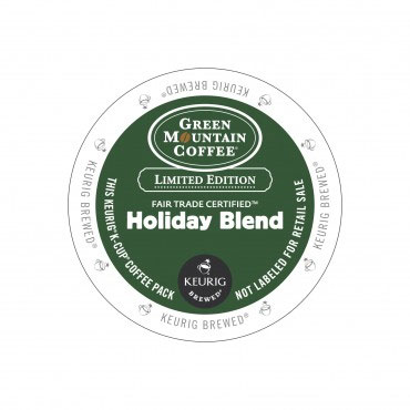 Green Mountain Coffee Holiday Blend Limited Edition Medium Roast K cups®  96ct