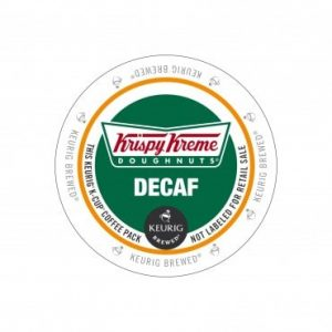 Krispy Kreme Decaf House Blend Medium Roast K cups®  24ct