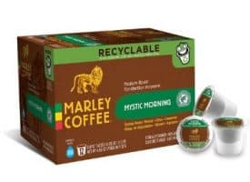 Marley Coffee Mystic Morning Medium Roast Coffee Pods 12ct