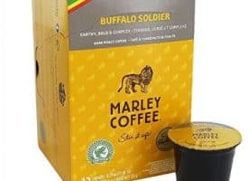 Marley Buffalo Soldier Coffee Dark Roast Coffee Pods 12ct
