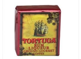 Tortuga Rum Liquer Ground Light Roast Coffee 96oz