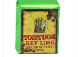 Tortuga Key Lime Ground Light Roast Coffee 96oz
