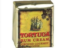 Tortuga Rum Cream Ground Light Roast Coffee 96oz