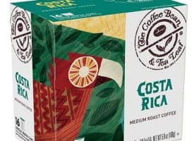 Coffee Bean and Tea Leaf Costa Rica Medium Roast K cups®  16ct
