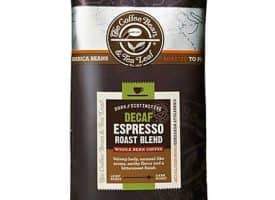 Coffee Bean and Tea Leaf Decaf Espresso Whole Bean Dark Roast 16oz
