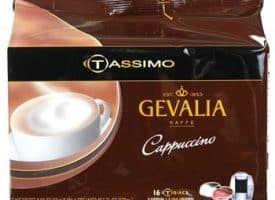 Gevalia Cappuccino Light Roast Tassimo T-Discs 8ct