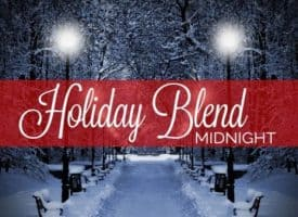 Camano Island Coffee Roasters Organic Holiday Blend Midnight Whole Bean Dark Roast Coffee 32oz