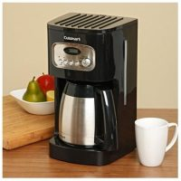 Cuisinart DCC-1150BKFR 10-Cup Programmable Thermal Coffee Maker