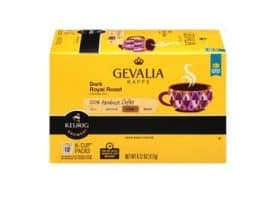 Gevalia Dark Royal Dark Roast Kcups 12ct