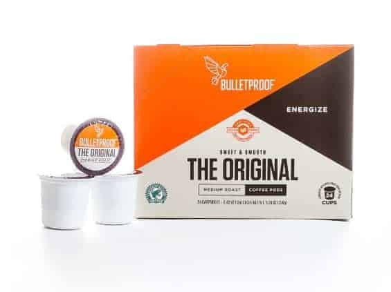 Bulletproof The Original Medium Roast Coffee Pods 24ct - Healthy Coffee K Cups