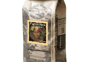 Camano Island Coffee Roasters Organic Papua New Guinea Whole Bean Light Roast Coffee 16oz