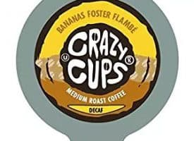 Crazy Cups Decaf Bananas Foster Flambe Medium Roast K cups®  22ct