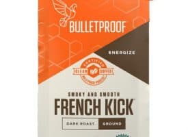 Bulletproof French Kick Whole Bean Dark Roast Coffee 8oz