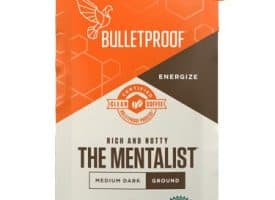Bulletproof The Mentalist Ground Medium Dark Roast Coffee 12oz