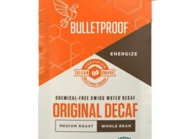 Bulletproof The Original Decaf Whole Bean Light Roast Coffee 12oz