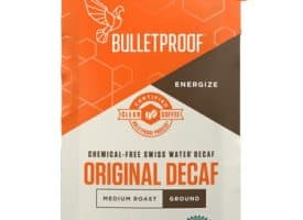 Bulletproof The Original Decaf Ground Light Roast Coffee 12oz
