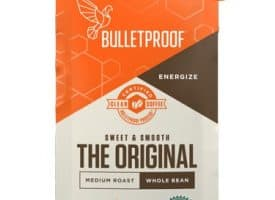 Bulletproof The Mentalist Whole Bean Medium Dark Roast Coffee 12oz