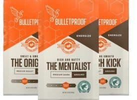 Bulletproof 3-Roast Variety Pack Ground Coffee 36oz