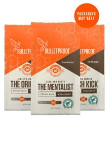 Bulletproof 3-Roast Variety Pack Whole Bean Coffee 36oz