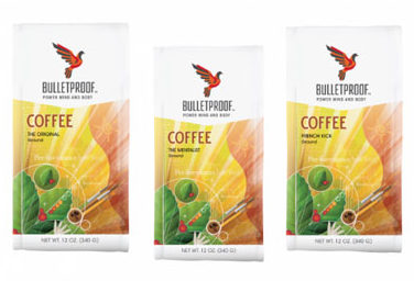 Bulletproof 3-Roast Variety Pack Ground Roast Coffee 36oz