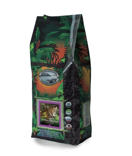 Camano Island Coffee Roasters Organic Central American Signature Blend Whole Bean Dark Roast Coffee 32oz
