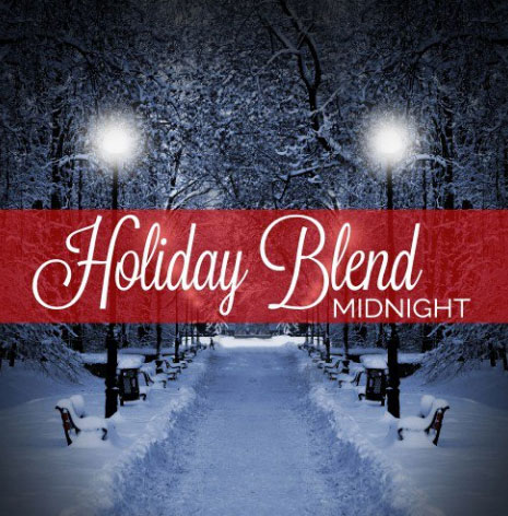 Camano Island Coffee Roasters Organic Holiday Blend Midnight Whole Bean Dark Roast Coffee 16oz