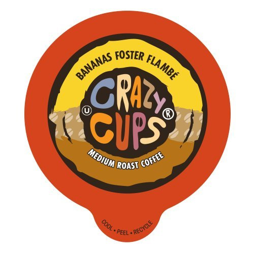 Crazy Cups Bananas Foster Flambe Medium Roast K cups® 22ct