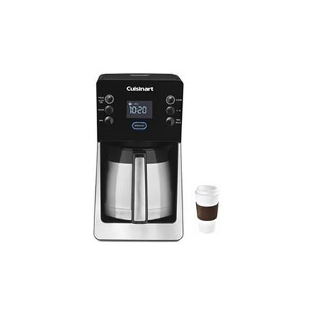 Cuisinart Perfec Temp 12 Cup Coffee Maker DCC-2900 Copco To Go Cup Bundle