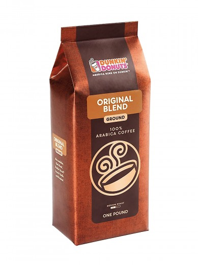 Dunkin Donuts Original Blend Ground Coffee Medium Roast 16oz